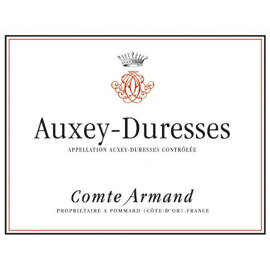 comte armand auxey duresses rouge