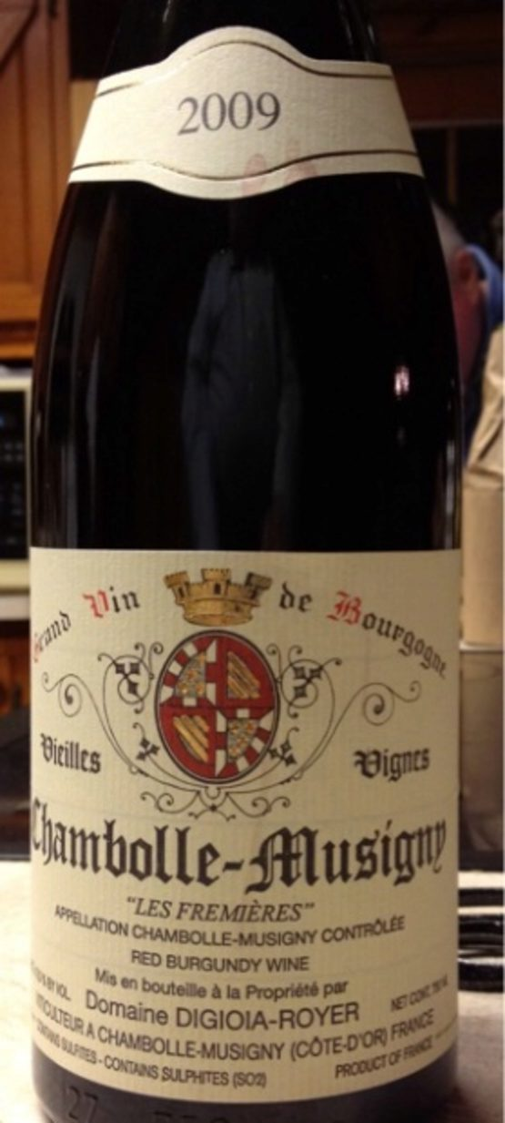2009 Chambolle Musigny Les Fremieres Vieilles Vignes