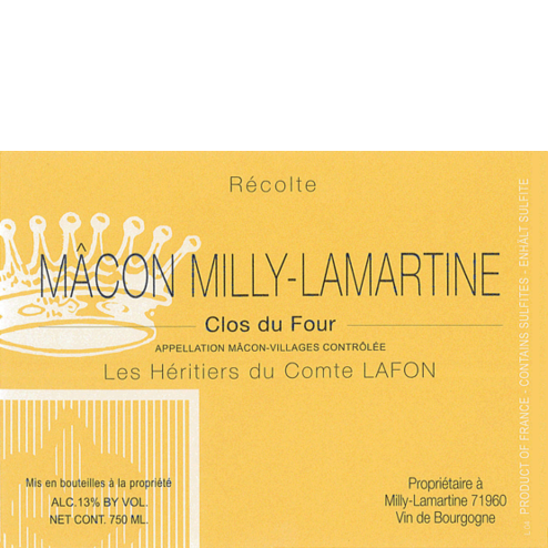 Macon Milly Clos du Four Label