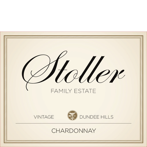 Stoller Dundee Hills Chardonnay Label