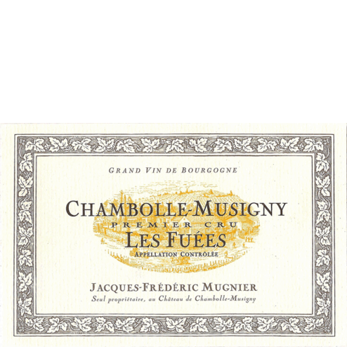 mugnier chambolle musigny 1er les fuees