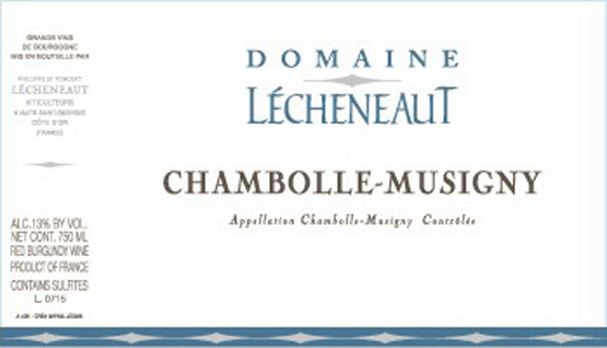 Domaine Lécheneaut Chambolle Musigny