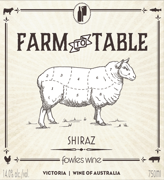 Farm To Table Shiraz