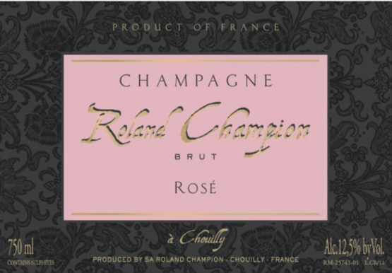 Champagne Roland Champion Brut Rose