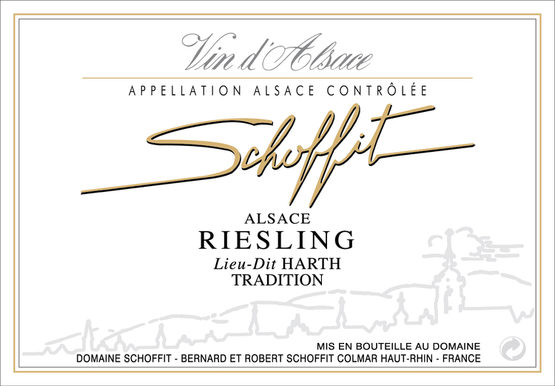 Schoffit Riesling Harth Tradition Label