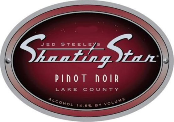 Steele Shooting Star Pinot Noir Label