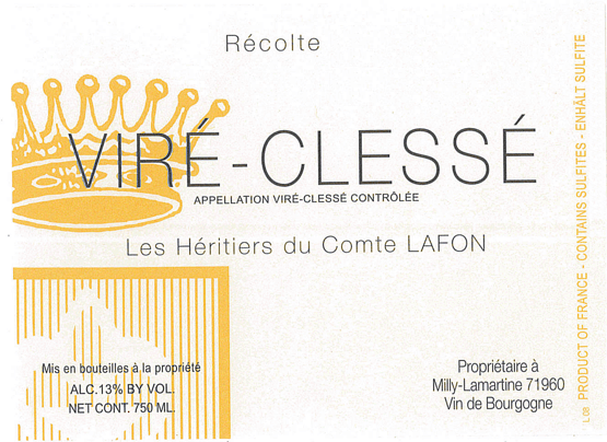 Heritiers Lafon Vire Clesse