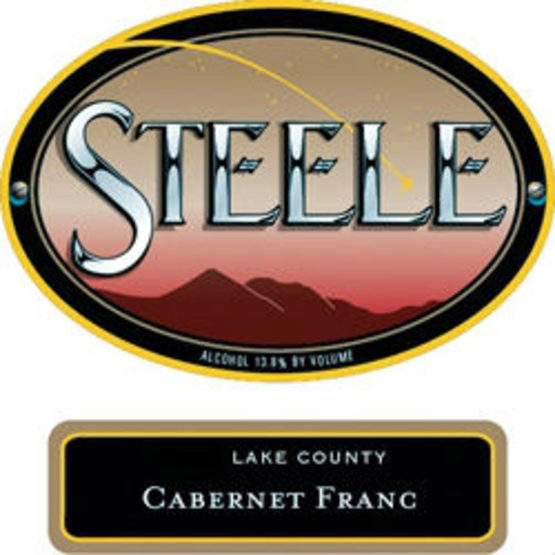 Steele Cabernet Franc Label