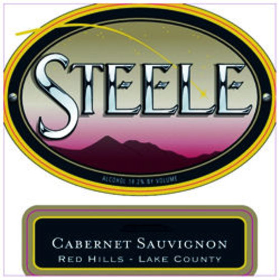 Steele Cabernet Sauvignon Red Hills Lake County Label