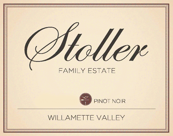 Stoller Family Willamette Valley Pinot Noir Label