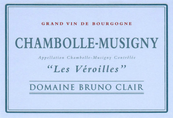 Domaine Bruno Clair Chambolle-Musigny Les Véroilles