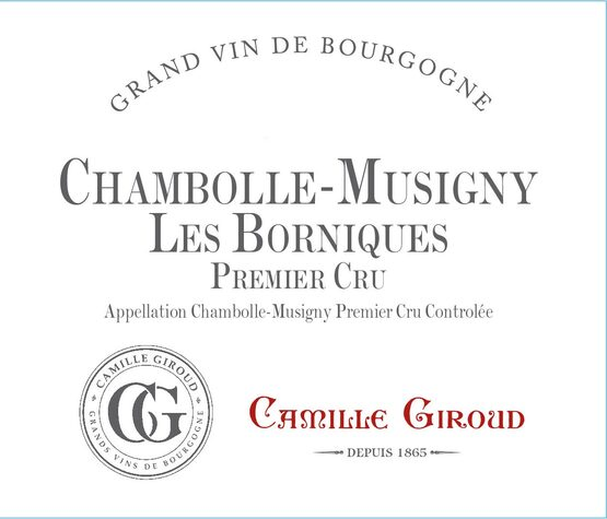 Camille Giroud Chambolle-Musigny Les Borniques Premier Cru
