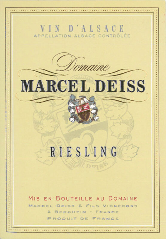 Domaine Marcel Deiss Alsace Riesling
